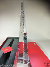 Baccarat Crystal Isis Trylon obelisk New in Box