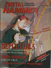 METAL HAMMER 12 1995 Sepultura Iron Maiden Alice In Chains Fear Factory Rainbow