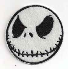 """Nightmare Before Christmas Jack  Embroidered 2.5""""  Patch- FREE S&H (NBCPA-4)"""