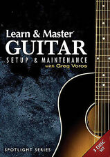 Learn and Master Guitar Setup and Maintenance, New DVDs