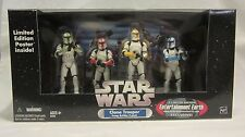Star Wars Clone Trooper 4-Pack Clean Colors Entertainment Earth Exclusive NIB