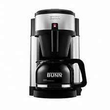 BUNN NHS Velocity Brew COFFEE BREWER,10-Cup Stainless Steel COFFEE MAKER, Black