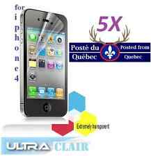 5X Protecteur Ecran HD clair iphone 4 4g 4s iphone4 Clear Screen Protector iphon