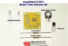BI DIRECTIONAL HO SCALE MODEL TRAIN DETECTOR KIT FOR CROSSING SIGNAL ACTIVATION