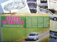 AUTO996-RITAGLIO/CLIPPING/NEWS1996-FIAT MAREA WEEKEND TD 100 ELX - 6 fogli