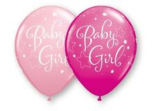"10 pc 11"" Baby Girl Star Latex Balloon Party Decoration Decorator Shower Welcome"