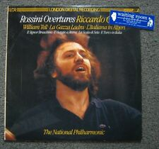 Riccardo Chailly - Rossini Overtures LP - National Philharmonic - London Records