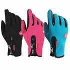 Waterproof Men's Women' Winter Ski Warm Gloves Motorcycle Touch Driving Gloves