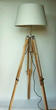 MODERN TRIPOD LIGHT STANDARD FLOOR LAMP WITHOUT SHADE