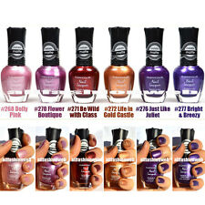 NEW KLEANCOLOR NAIL POLISH MATTE METALLIC LOT OF 6 LACQUER - WHOA & WOW KNP11