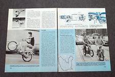 """AD46 - Clipping-Ritaglio -1976-  VIA COI """" MOTORINI """""""