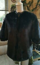 Desiger Ladies PHEBELY Faux FUR JACKET size 10 12 1/2 sleeve.