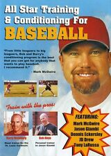 All Star Training and Conditioning for Baseball (2003, DVD NEUF)