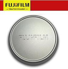 Original FUJI Fujifilm X100 X100S X100T Metal Front Lens Cap - SILVER