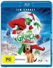The Grinch (2000) Dr. Seuss' How the Grinch Stole Christmas NEW B Region Blu Ray