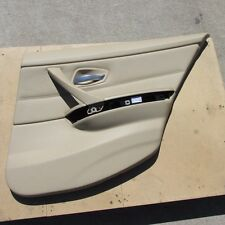 BMW E90 E91 323i 325i 328i 330i 335i REAR RIGHT DOOR INTERIOR TRIM PANEL BEIGE