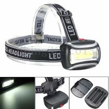 600Lm Mini LED COB Headlamp Headlight Flashlight Torch For Camping Hiking Work