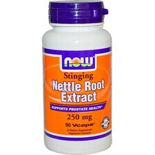 Now Foods, Nettle Root Extract, Stinging, 250 mg, 90 Vcaps