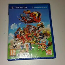 One Piece Unlimited World Red PS Vita Nuevo Sellado PAL Reino Unido Sony PlayStation 3 PSV