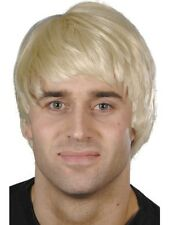 ADULT MENS SHORT BLONDE GUY WIG SMIFFYS ICONS MODEL BEATLES FANCY DRESS