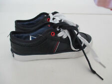 TOMMY HILFIGER Black TENNIS SHOES~SNEAKERS~SZ1 youth NEW