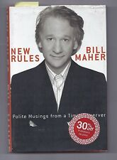 New Rules : Polite Musings from a Timid Observer by Bill Maher Book