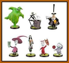 DISNEY TIM BURTON'S NIGHTMARE BEFORE CHRISTMAS FIGURE PLAY SET 7 FIGURES NEW