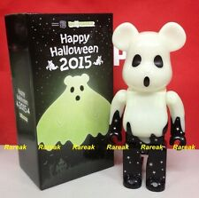 Medicom Be@rbrick 2015 Happy Halloween 400% TRICK or TREAT GID Green Bearbrick