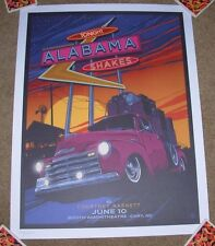 ALABAMA SHAKES concert gig poster CARY 6-10-15 2015 Tour Vance Kelly