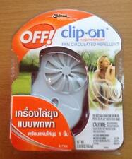 OFF ! CLIP ON MOSQUITO REPELLENT INSECT FLY PROTECTION NO SPRAY