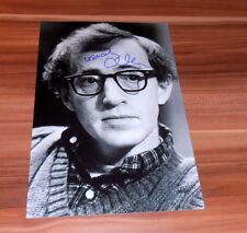 Woody Allen *Oscar Annie Hall 1978*, original signed Photo in 20x25 cm (8x10)