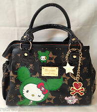 ❤️TOKIDOKI X HELLO KITTY BOSTON BAG MINI BLACK SANDY LIMITED EDITION RARE FIND❤️