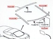 Genuine Mitsubishi Hatchback Lower Glass Molding  3000GT 1991 - 1999