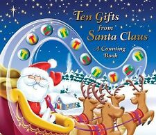 Ten Gifts from Santa Claus : A Counting Book by Jenny Bak (2011, Hardcover)