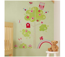 NEW GROBAG HEIGHT CHART STICKER HETTY COLORFUL RETRO DAILY BABY ROOM DECORATION