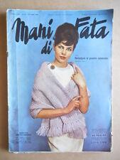 MANI DI FATA n°10 1960 con cartamodelli  [C59]