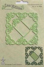 Lea'bilities Design Die Cutter - Frame square lace, craft, card making 9906