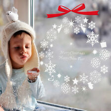 Christmas Snowflakes Removable Wall Art Decal Wall Sticker Window Home Decor