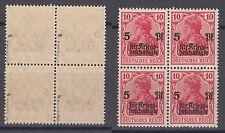 Deutsches Reich 105 a ** postfrisch Viererblock geprüft (2)
