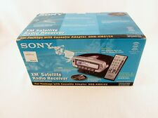 Sony XM Sirius Satellite Radio Receiver Car Package DRN-XM01C2 - New Old Stock