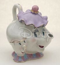 Disney Beauty & The Beast Mrs. Potts & Chip Figure Cookie Jar Ltd Edition 350
