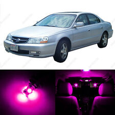 8 x Pink/Purple LED Interior Lights Package For 1999 - 2003 Acura TL
