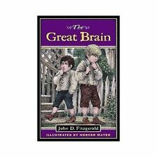 Kids fun paperback gr 3-7:The Great Brain-Midwest con-man only 10 years old-lol!