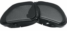 Hogtunes Thick Mesh Front Fairing Speaker Grilles Harley Road Glide 1998-2013