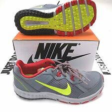 $70 Nike Men's Wild Trail Runners Gym Red/Grey Size 10.5 Style 642833 NIB