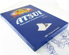 ATSUI TATTOO STENCIL TRANSFER PAPER for Outline Tracing Art Supply (20-SHEETS)