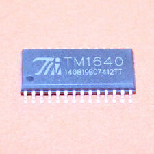 2 STK. TM1640 LED DISPLAY TREIBER SOP-28 NEU ARDUINO 2pcs.