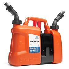 HUSQVARNA COMBI FUEL PETROL OIL CAN CHAINSAW 5 LITRE 580754201 NEXT DAY OPTION