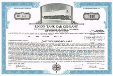 USA UNION TANK CAR COMPANY  stock certificate