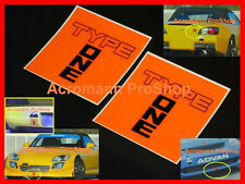 "2x 4"" 10.2cm Spoon Type One Decal Sticker sports JDM s2000 dc5 dc2 rsx civic fd2"